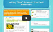 email marketing social webinar